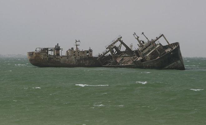 Погибшие корабли в проливе Ла-Манш